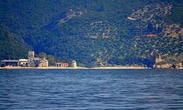 Mount Athos skits Greece Stock Photos
