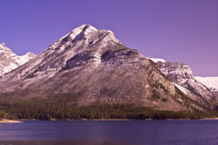 Mount Aylmer at Banff Royalty Free Stock Image