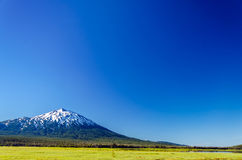 Mount Bachelor and Blue Sky Royalty Free Stock Photography