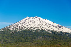 Mount Bachelor Closeup Royalty Free Stock Photo