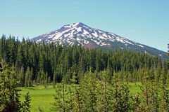 Mount Bachelor Royalty Free Stock Photography