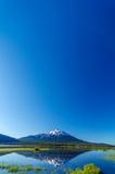 Mount Bachelor and Sky Stock Image
