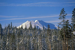 Mount Bachelor (top) Royalty Free Stock Image