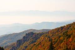 Mount Bailongshan autumn, Shanxi, China stock photography