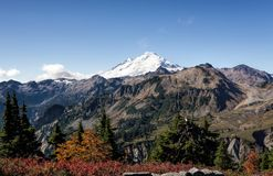 Mount Baker from Artist point Royalty Free Stock Images