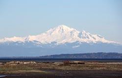 Mount Baker from Boundary Bay Stock Photography