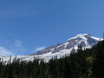 Mount Baker with glaciers Stock Image