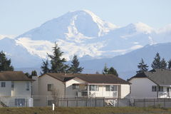 Mount Baker or Mt. Baker Stock Image