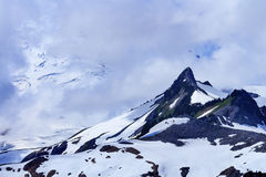 Mount Baker Under Clouds from Artist Point Washington State Stock Image