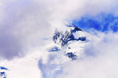 Mount Baker Under Clouds from Artist Point Washington State Royalty Free Stock Photos