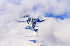 Mount Baker Under Clouds from Artist Point Washington State Royalty Free Stock Image
