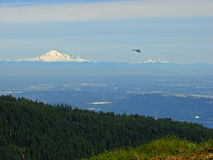 Mount Baker View, Vancouver Royalty Free Stock Images