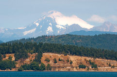 Mount Baker. View from the west Royalty Free Stock Photos