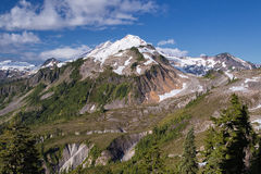 Mount Baker, Washington. The snow-capped Mount Baker volcano in northern Washington, USA Royalty Free Stock Images