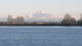 Mount Baker, Washington State, USA 4K slow motion stock video