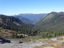 Mount Baker wilderness in fall Stock Images