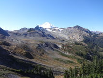 Mount Baker wilderness in fall Royalty Free Stock Photos