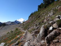 Mount Baker wilderness in fall Stock Photos