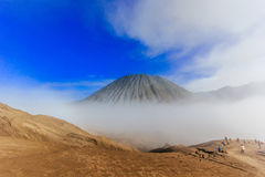 Mount Batok, Indonesia. A view of mount Batok in east Java, Indonesia Royalty Free Stock Image