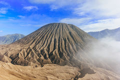 Mount Batok, Indonesia. A view of mount Batok in east Java, Indonesia Stock Image