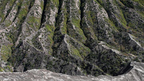 Mount Batok , Bromo Tengger Semeru national park , Indonesia. Side of inactive Batok volcano formed by its former volcanic activity in National park Bromo Royalty Free Stock Photos