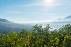 Mount Batur Royalty Free Stock Photos