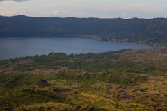 Mount Batur in Bali Royalty Free Stock Images