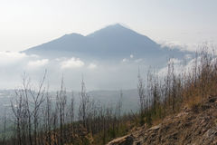 Mount Batur, Bali, Indonesia Royalty Free Stock Photography