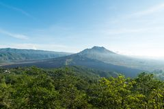 Mount Batur Royalty Free Stock Photography