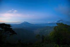 Mount Batur Stock Photos