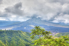 Mount Batur Stock Photo