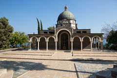 Mount of Beatitudes chapel Royalty Free Stock Images