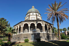 Mount of Beatitudes Israel Stock Images