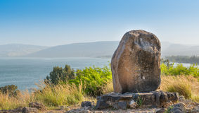 Mount of the Beatitudes Royalty Free Stock Photos