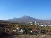 Mount Beshtau. Autumn views of mount Beshtau from Pyatigorsk Royalty Free Stock Images