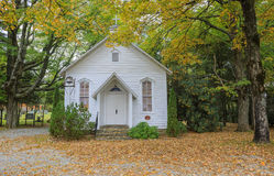 Mount Bethel Chapel Blowing Rock North Carolina Stock Photography