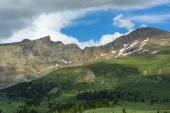 Free Mount Bierstadt And The Sawtooth In The Colorado Rockies During The Day Stock Photos - 154437483