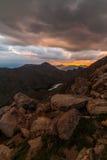 Mount Bierstadt at Sunset Stock Photo