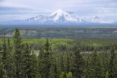 Mount Blackburn Alaska Stock Photo