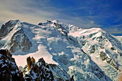 Mount blanc Stock Photo