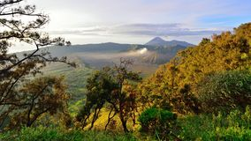 Mount Bromo, an active volcano in East Java Stock Photography