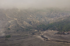 Mount Bromo in east Java, Indonesia Royalty Free Stock Photography