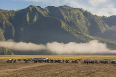 Mount Bromo in east Java, Indonesia Royalty Free Stock Images