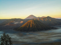 Mount Bromo in Indonesia Stock Photography