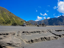 Mount Bromo in Indonesia Stock Photo