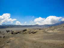Mount Bromo in Indonesia Royalty Free Stock Photo