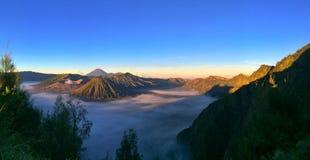 Mount Bromo. Indonesia it's active volcano Stock Photography