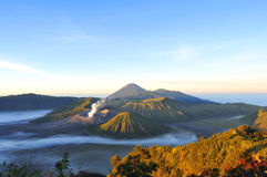Mount Bromo, Java, Indonesia Stock Photo