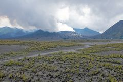 Mount Bromo on Java Indonesia. Asia Royalty Free Stock Photography