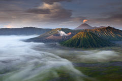 Mount Bromo, Java, Indonesia Stock Image
